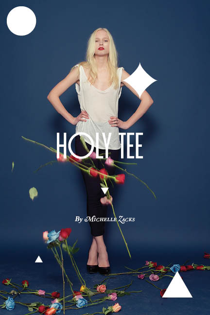 Holy Tee Fall 2011 Collection by Michelle Zacks
