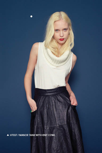 Holy Tee Fall 2011 Collection - HT037 / Manor Tank With Knit Cowl