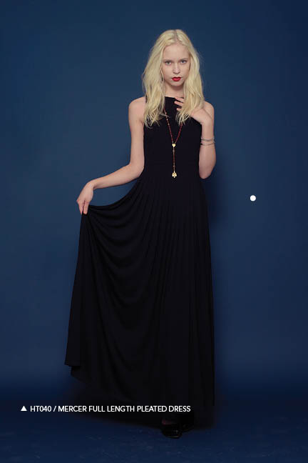 Holy Tee Fall 2011 Collection - HT040 / Mercer Full Length Pleated Dress