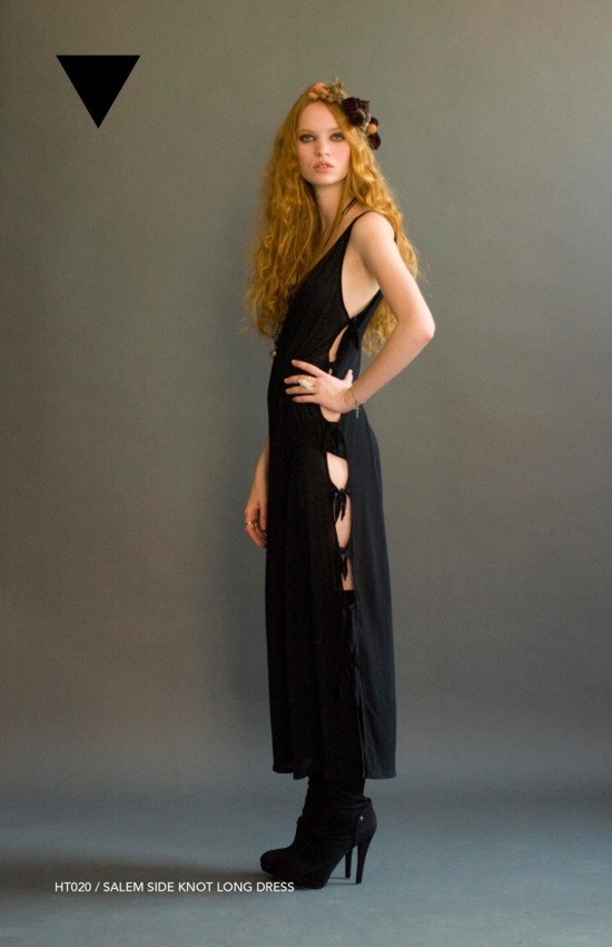 Holy Tee Spring 2011 Collection - HT020 / Salem Side Knot Long Dress
