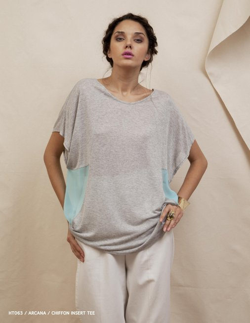 Holy Tee Spring 2012 Collection - HT063 / Arcana / Chiffon Insert Tee